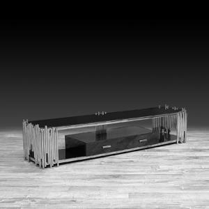 mauris silver stylish tv stand