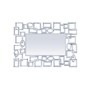 chainmail modern wall mirror